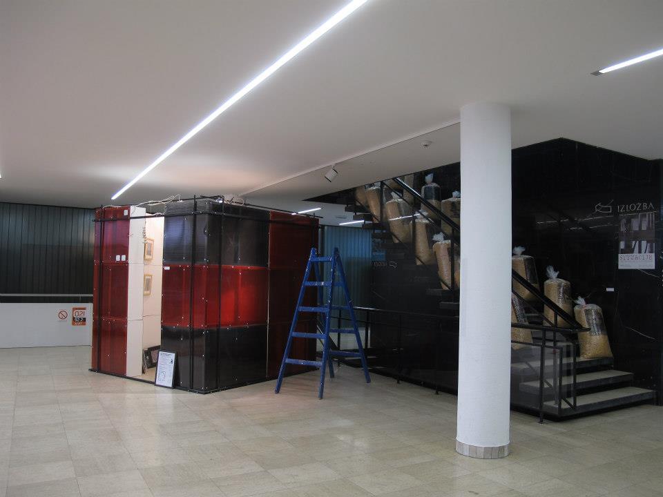 Pokretna Šok galerija u MSUV